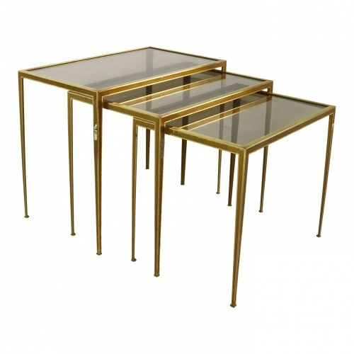 Sixties set of nesting tables by VWM