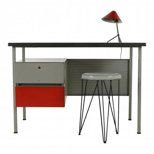 Nice small Gispen ladies desk by Cordemeyer
