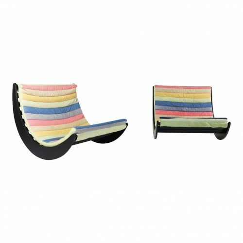 Verner Panton relaxer II two seater by Rosenthal