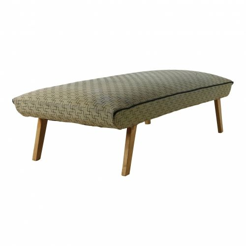 Original forties fabric pattern design daybed