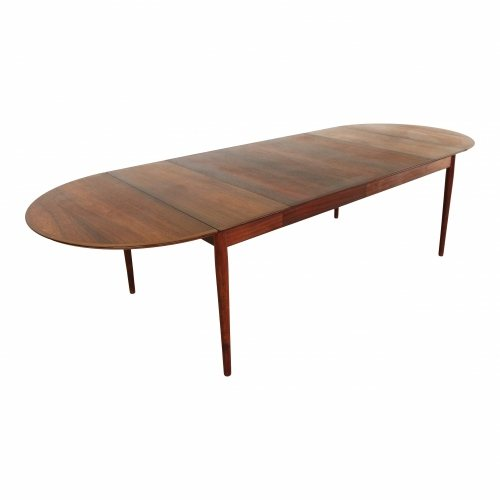 Arne Vodder dining table with four extensions