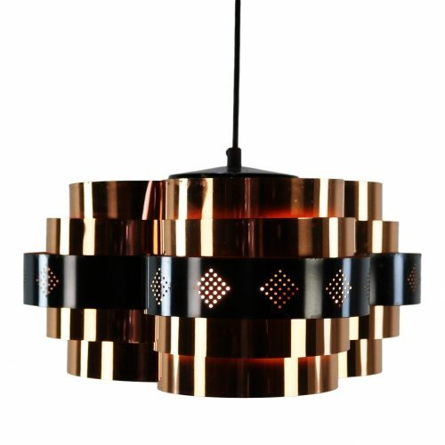 Danish pendent light by Werner Schou for Coronell