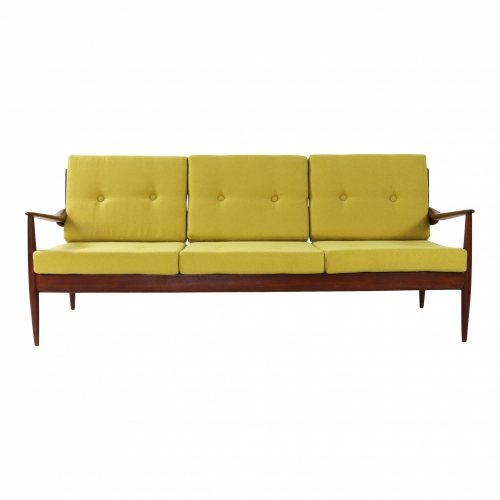Belgian design three seater sofa