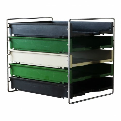 Letter organizer or archive chest of drawer