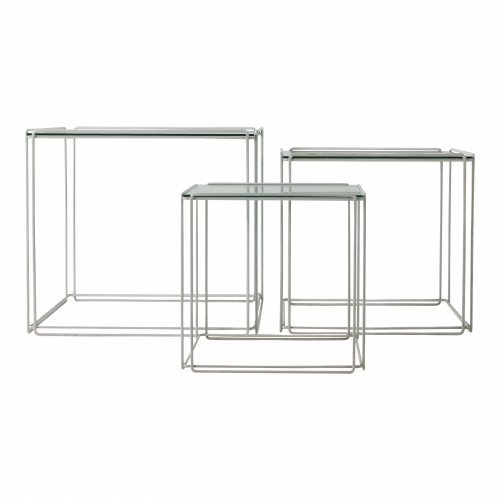 Larger set of side tables Isocele by Max Sauze