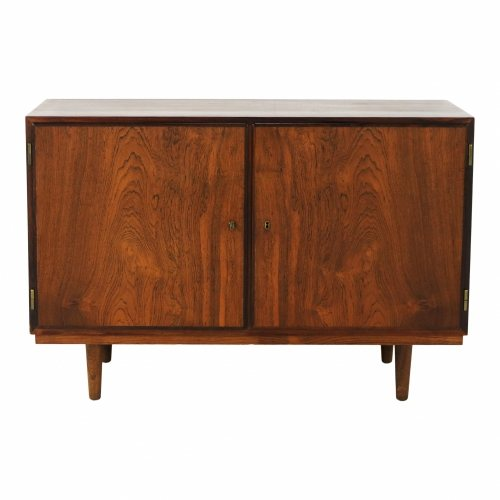 Beautiful danish design small rosewood sideboard