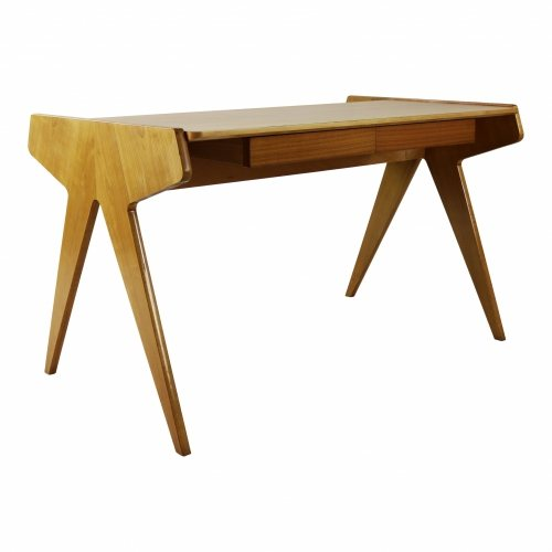 Excellent German design desk by Helmut Magg