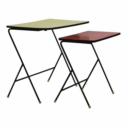 Set of two side tables for Pilastro