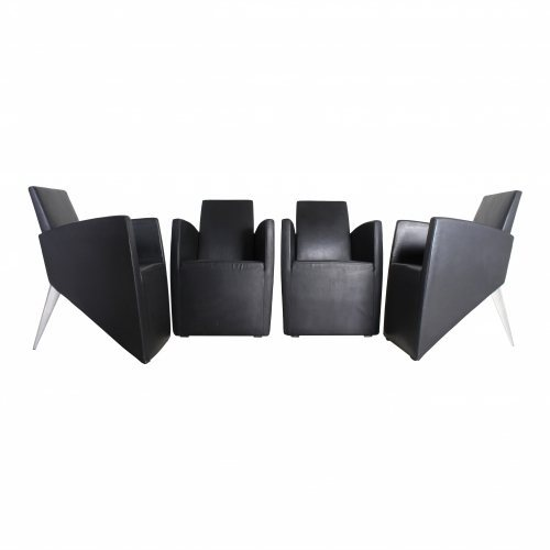 Philippe Starck Prototype J. Serie Lang lounge chairs