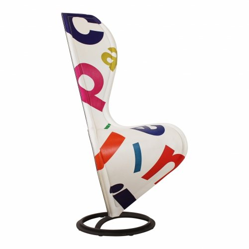 Limited edition Tom Dixon S-chair for Cappellini