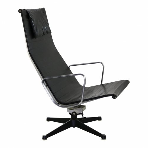 Early vintage design Aluminium series office chair EA124