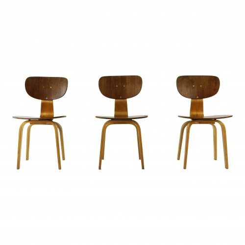 Three dining chairs by Cees Braakman for UMS Pastoe
