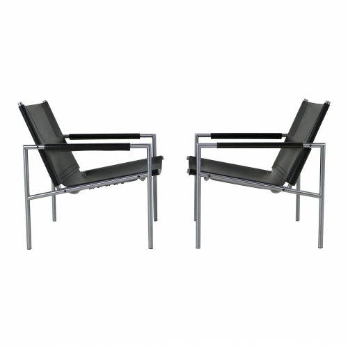 Set of two Martin Visser lounge chairs for Spectrum Holland