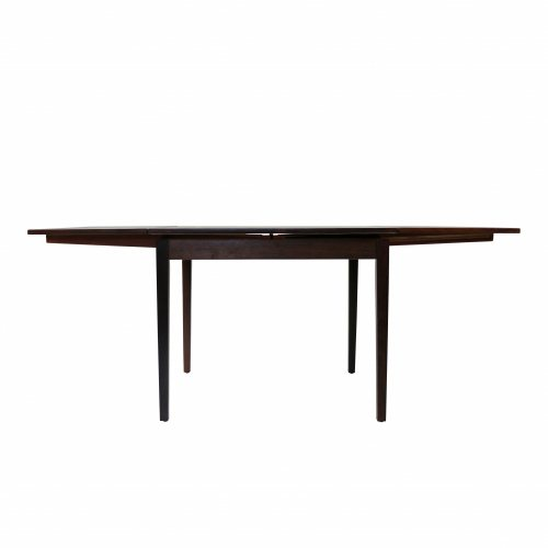 Danish design rosewood square dining table