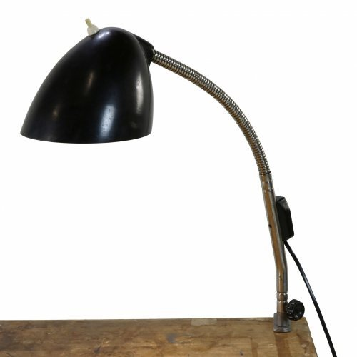 German design table lamp with flexible arm
