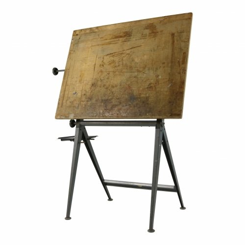 Wim Rietveld and Friso Kramer design drawing table