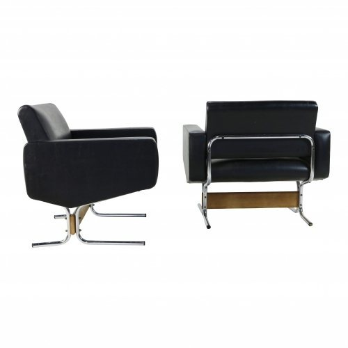 Set of two lounge chairs by Pierre Guariche for Meurop