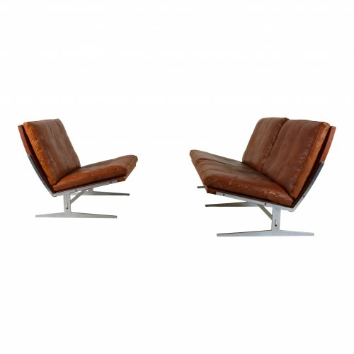 Mid-Century lounge set by  Preben Fabricius and Jørgen Kastholm