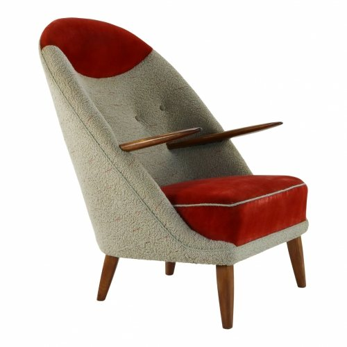 Top design lounge easy chair by Kurt Østervig for