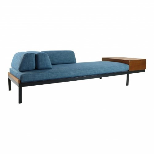 Typical sixties daybed with storage by Friso Kramer for Auping