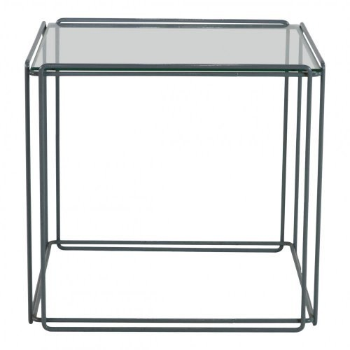 Wire frame Isocele side table by Max Sauze