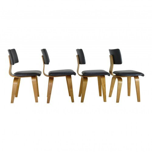 Set of four dining chairs by Cees Braakman for UMS Pastoe