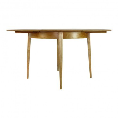 Birchwood dining table by Cees Braakman for UMS Pastoe