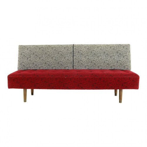 Danish design daybed with nice fifties motive