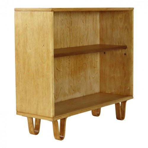Fifties birchwood series bookcase by Braakman for UMS Pastoe
