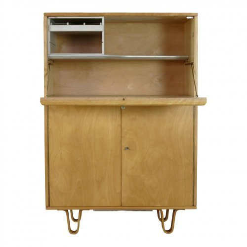 Fifties birchwood cabinet by Cees Braakman for UMS Pastoe
