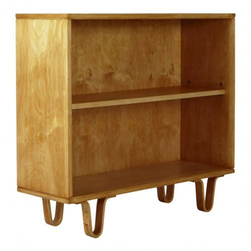 Small birchwood bookcase by Cees Braakman for UMS Pastoe