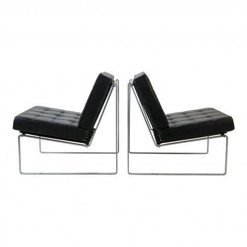 Set of two lounge chairs by Kho Liang Ie for Artifort