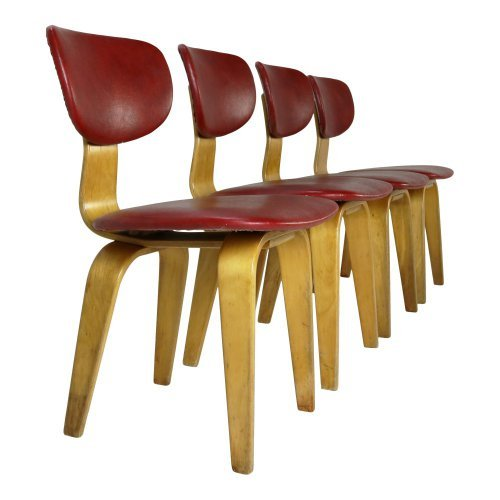 Cees Braakman design dining chairs for UMS Pastoe