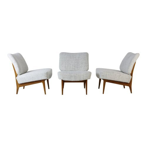Fifties design Theo Ruth lounge chairs for Artifort Holland