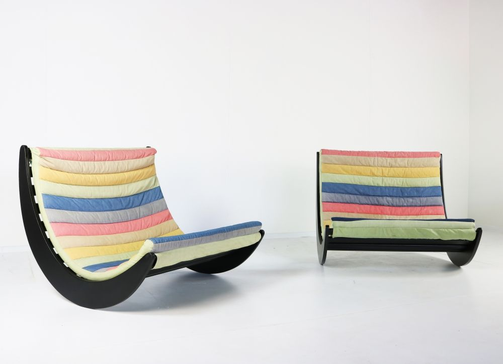ONE Verner Panton relaxer II two seater by Rosenthal