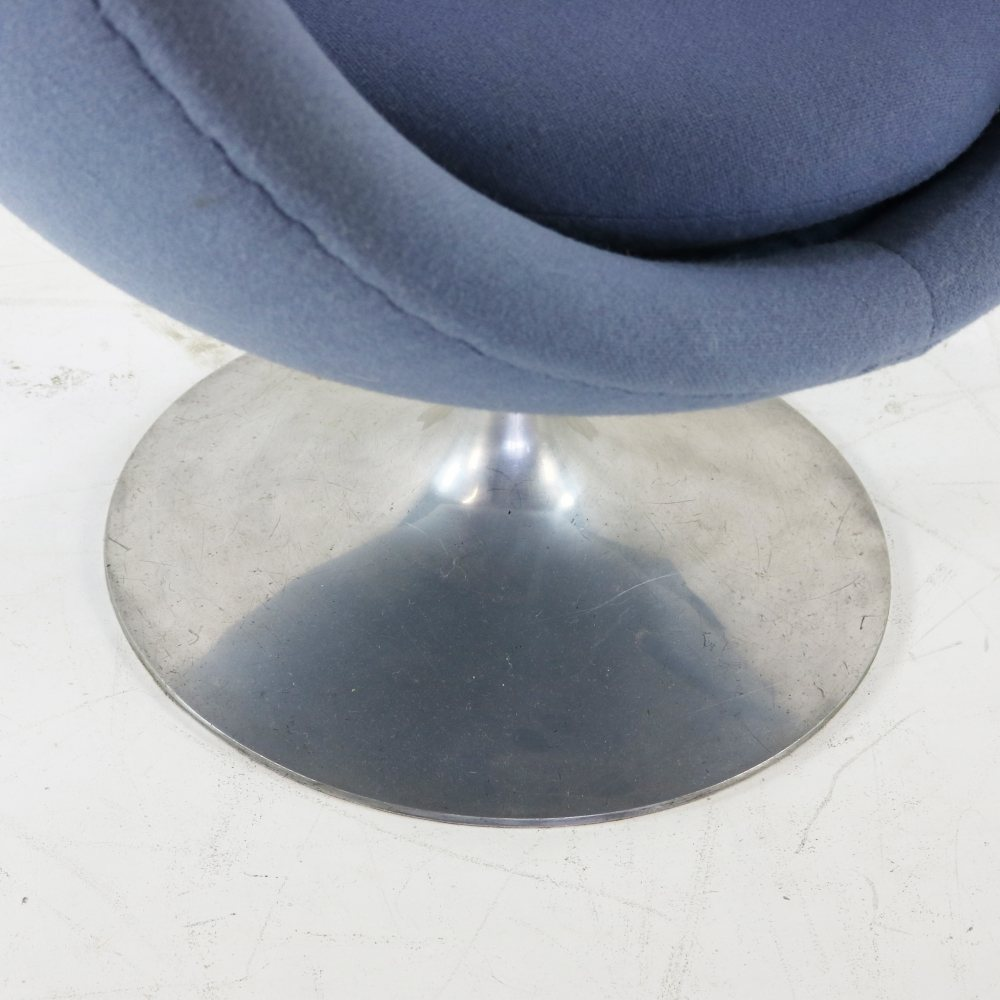 Louis Bender Crocus ball chair on tulip base