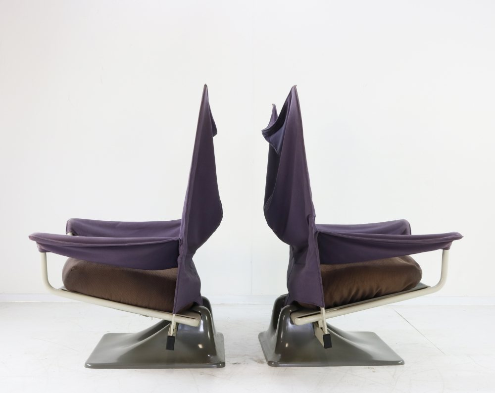 Set of two AEO chairs for Cassina