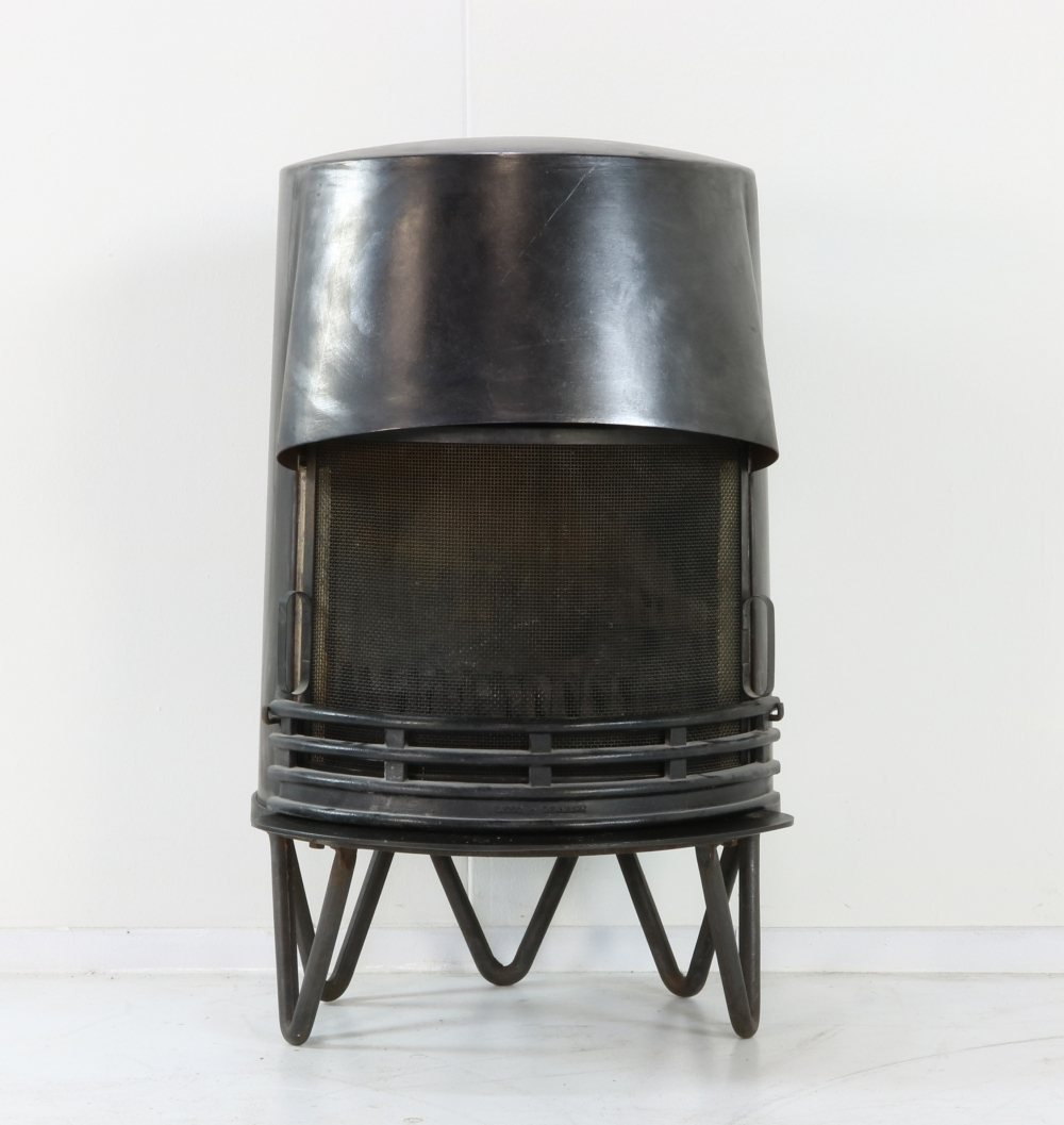 Danish design wood stove fire place