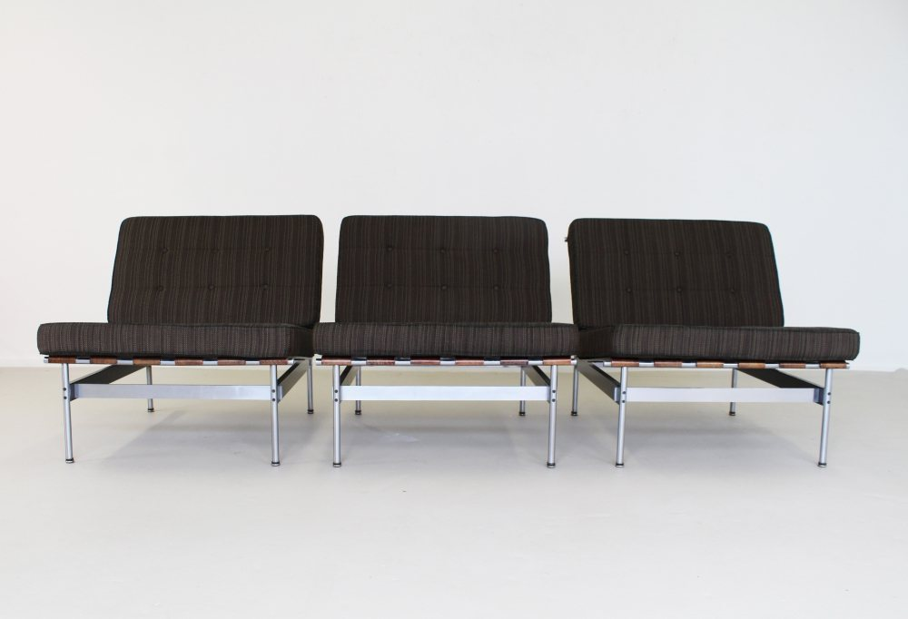 Set of three easy chairs by Kho Liang Ie for Artifort