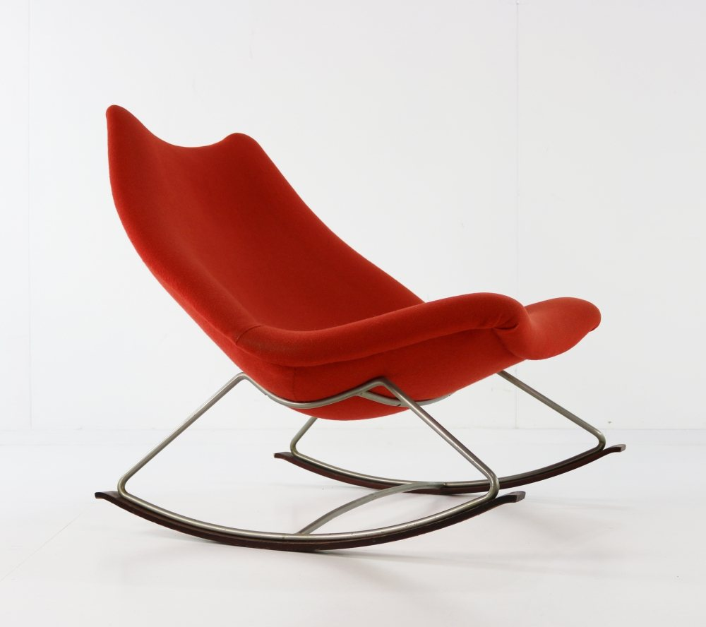 Original rocking chair by Harcourt for Artifort