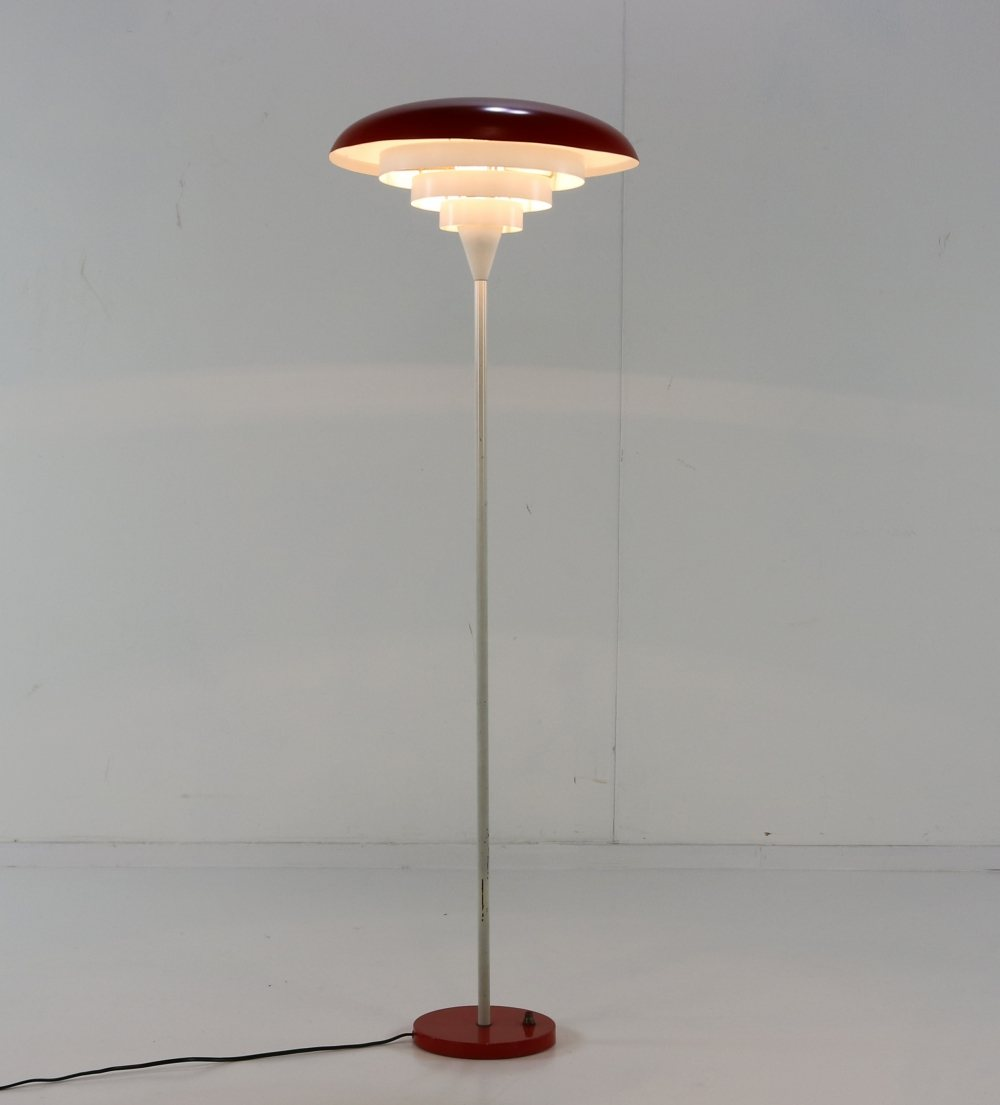Stunning sixties floor lamp by Hala Zeist