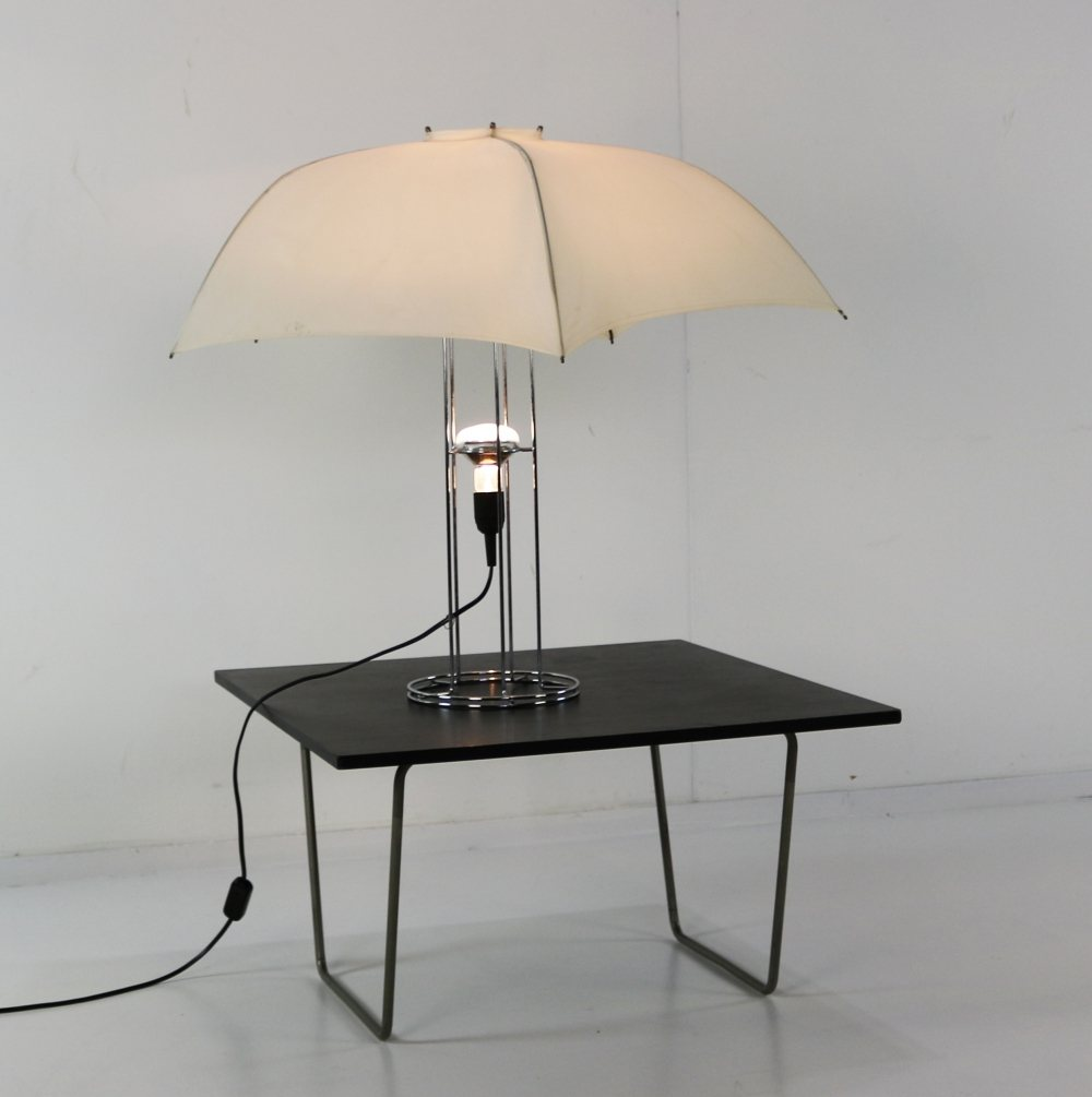 Umbrella table lamp by Gijs Bakker