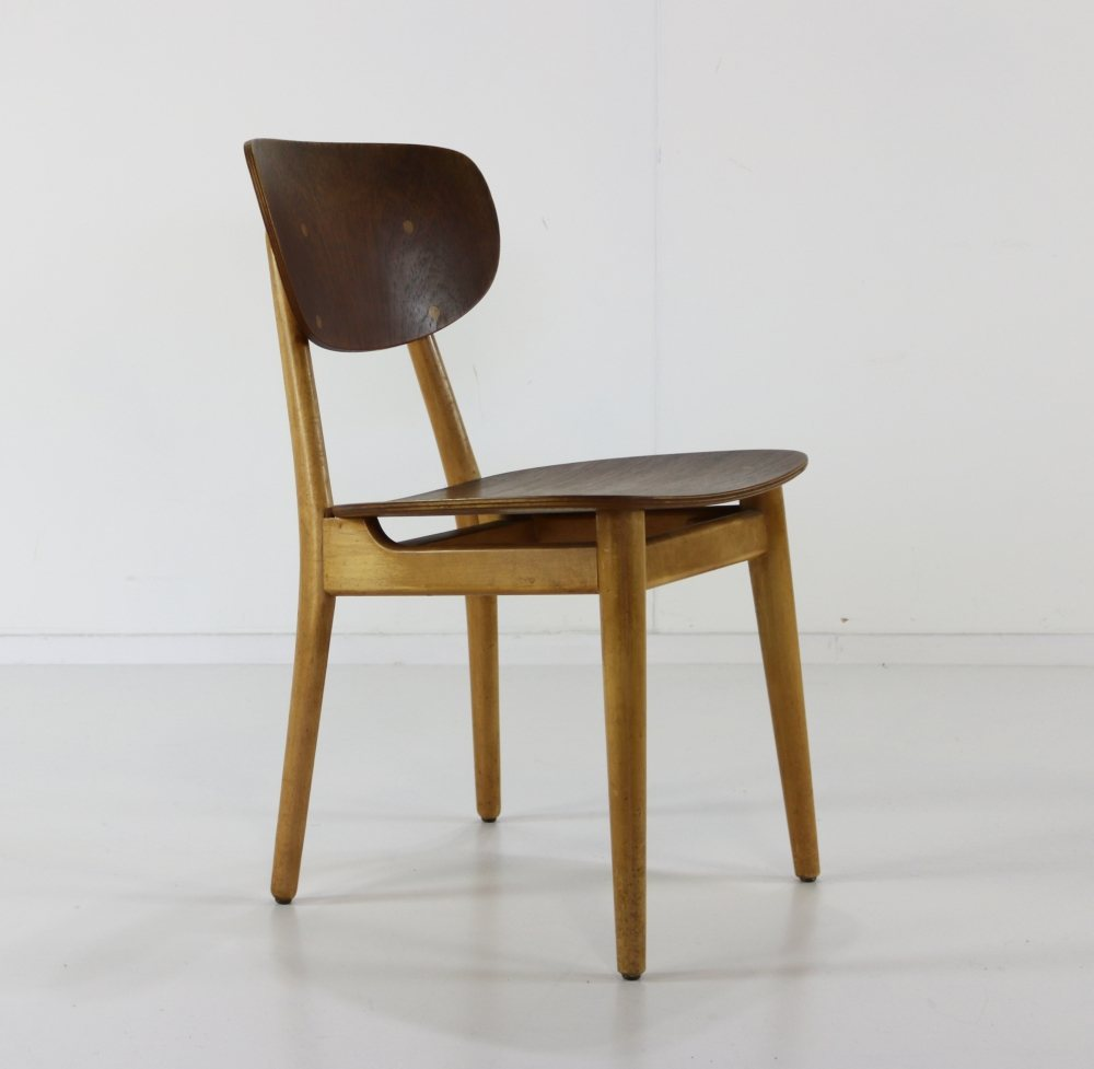 Stunning set of three UMS Pastoe chairs by Cees Braakman