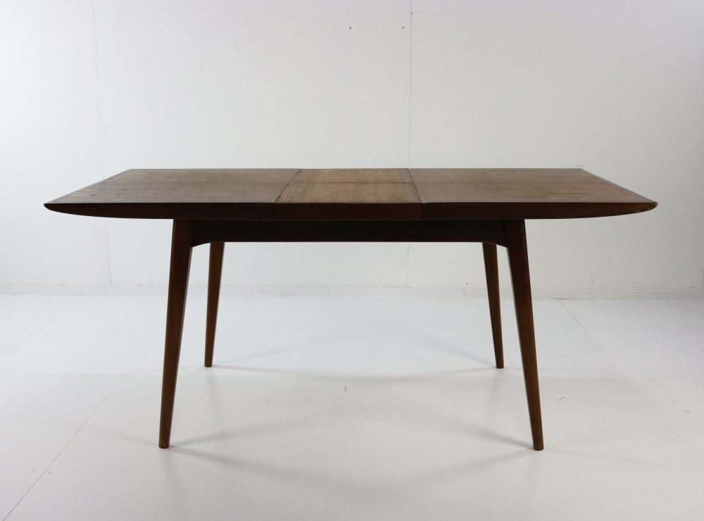 Dining table in teak by Louis van Teeffelen for Wébé