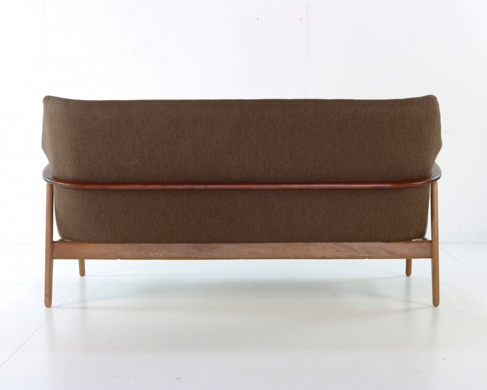 Complete Bovenkamp wingback seatinggroup with coffee table