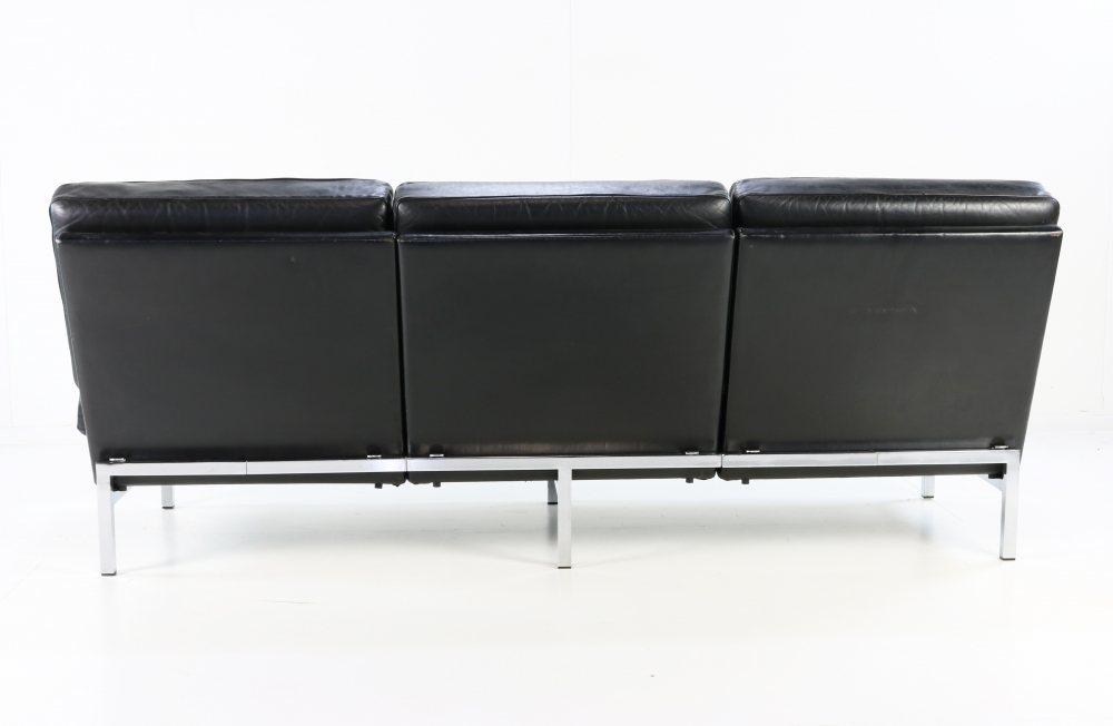 Typical German design leather seating system