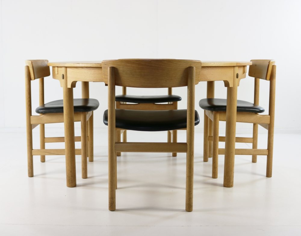 Børge Mogensen set of four 'The People's Chair' dining chairs