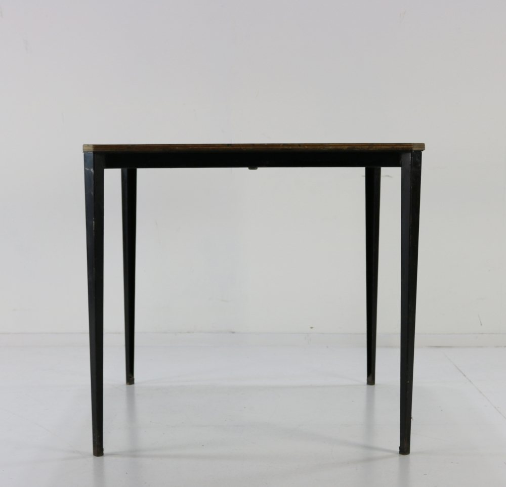 Industrial table side kitchen table