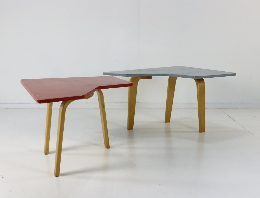 Cees Braakman coffee table as a set of two for UMS Pastoe