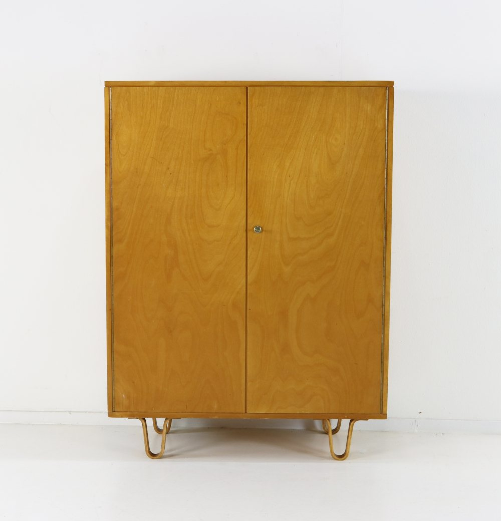 Ladies birchwood linen cabinet for UMS Pastoe